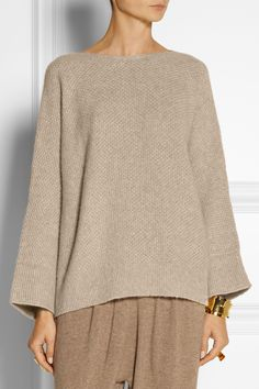 The Row|Kerr oversized cashmere and silk-blend sweater