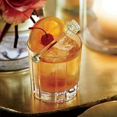 Brandy Old-Fashioneds // More Fantastic Brandy Cocktails: http://www.foodandwine.com/slideshows/brandy-drinks #foodandwine