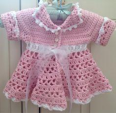 Baby Dress Crochet Pattern Victorian : Child crochet poncho - Girls crocheted shawl - Girls ...