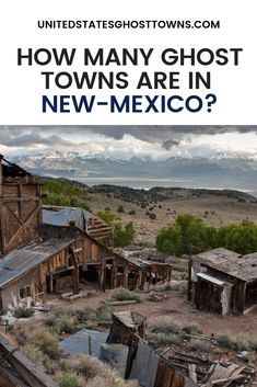 How Many Ghost Towns Are In New Mexico? This is a list of ghost towns in the U. state of New Mexico. I have made all efforts to make sure this list is as accurate as I can New Mexico Vacation, New Mexico Road Trip, Travel New Mexico, New Mexico Usa, Tennessee Vacation, Vacation Trips, Vacation Ideas, Alaska Travel, Travel Usa