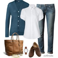 Simple Outfits - Oxfords