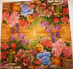 Garden Flowers 33x33 cm | Voorjaarsbloemen | vintagerose-servetten