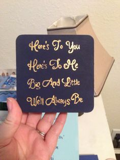 Pin box for a fam member for her new little.