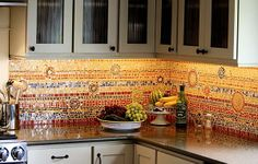 Love This Eye Candy 6 Incredible Mosaic Kitchen Backsplashes