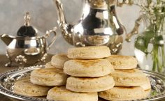 English Style Crumpets #recipes @The Food Channel .com #tea #crumpets