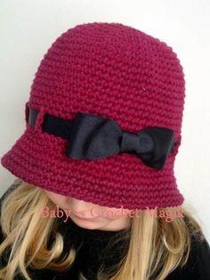 Gorro Crochet Niña Imagui