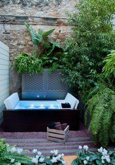 Bañera exterior