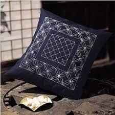 Resultado de imagen de cojines con bordado japones