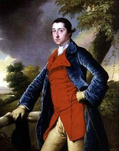 Portrait of Francis Burdett of Foremarke Hall - Joseph Wright of Derby