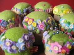 felted pincushions - Bing Images