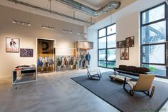 dan pearlman designed the 'Calamar Brand Relaunch & Showroom' in Germany. http://en.51arch.com/2014/09/i0050-calamar/