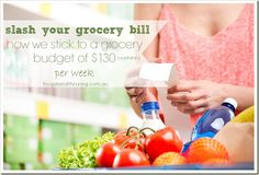 12 tips on how to reduce the grocery budget and feed the family for less.