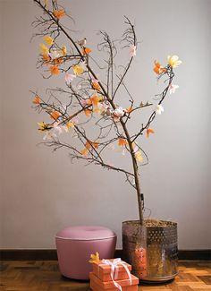 Não tem desculpa se não tiver espaço, olha que mimosa essa árvore!