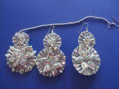 Gota Patti Jewellery, Drop Earrings, Flower, Jewelry, Fashion, Moda, Jewlery, Jewerly, Fashion Styles