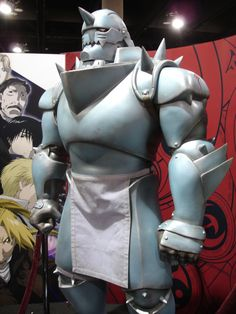 Full Metal Alchemist Alphonse armor!