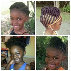 Pleasing 14 Super Cute And Creative Corn Row Styles For Your Little Girl Short Hairstyles Gunalazisus