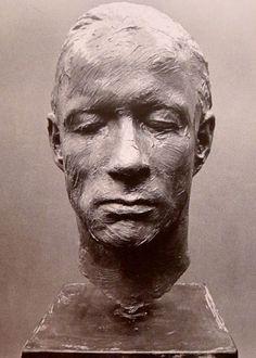 """Gerhard Richter Bust of Palermo from """"Zwei Skulpturen für einen Raum von Palermo"""". 1971"""