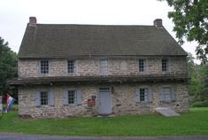 Troxell-Steckel House, home of Peter Troxell in 1756.