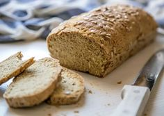 Paleo Banana Bread, Banana Recipes, Sugar Free, Food To Make, Detox, Low Carb, Healthy Eating, Gluten Free, Vegan