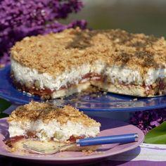 Stachelbeer-Krümel-Torte