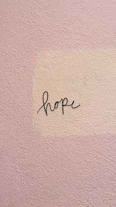 hope iPhone wallpaper