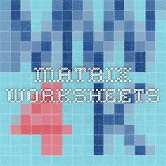 math worksheet : 1000 images about maths  yr12 apps on pinterest  sequence and  : Matrix Addition Worksheet