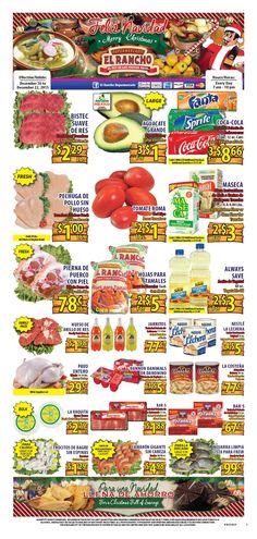 El Rancho Weekly Ad December 16 - 22, 2015 - http://www.olcatalog.com/grocery/el-rancho-weekly-ad.html