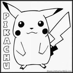 pokemon character printable coloring pages