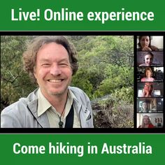 Put your cowboy hat on and join me on an exciting LIVE hike through the Australian wilderness! Bring nine of your friends along for free! Travel Destinations, Travel Tips, Australia Travel Guide, Travel Planner, Sydney Australia, Tour Guide, Wilderness, Join, Tours