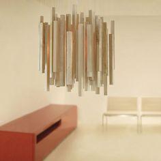 Hängelampe / originelles Design / für Innenbereich / aus Birke WOODS : WD04 by Héctor Serrano arturo alvarez
