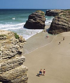 Beautiful Beaches to Visit in 2014: Playa de las Catedrales, Galicia, Spain