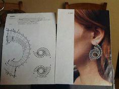 - bobbin lace by Junior-rk Lace Earrings, Lace Jewelry, Bruges Lace, Bobbin Lacemaking, Bobbin Lace Patterns, Crochet Needles, Needle Lace, Lace Making, Irish Crochet