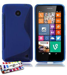 """ORIGINAL MUZZANO Blue """"Le S"""" Premium Flexible Shell for NOKIA LUMIA 635 MUZZANO http://www.amazon.ca/dp/B00M4IFJ48/ref=cm_sw_r_pi_dp_9ZtDub1YBB4WJ"""