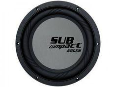 """Subwoofer Arlen 12 """" 200W RMS 4+ 4ohms - Compact com as melhores condições você encontra no Magazine Shopspremium. Confira!"""