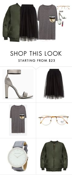 """""""Bez tytułu #4100"""" by olgon ❤ liked on Polyvore featuring Zara, Persol, Larsson & Jennings, WearAll and Rimmel"""