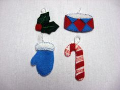 Craft with Confidence: the first wave of advent ornaments