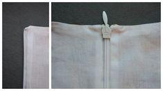 spiegelstiksels = =: Een blinde rits en voering, zonder één steekje met de hand én zonder de naald te verzetten