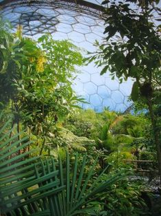 The Eden project (Cornwall/ U.K.): http://curious-places.blogspot.co.nz/2011/04/eden-project-cornwall-uk.html