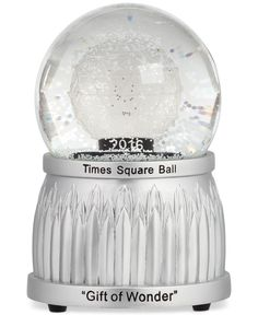 Waterford 2016 Times Square Snow Globe