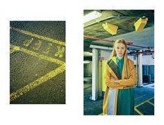 Coat, Salwa McGill; dress, Stephanie Davidson. Styling: Alexandra Fiddes Photographs: Igor Termenon