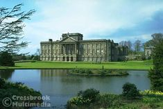 Lyme Hall - The Pride and Prejudice mansion! (this is actually the back of the house)