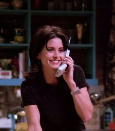 Courteney Cox. FRIENDS Monica Geller, Chandler Bing, Joey Tribbiani, Phoebe Buffay, Rachel Green, Ross Geller