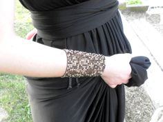 leather & strass