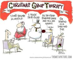 Christmas group therapy… Think this is gonna be the christmas card for my friends