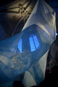 Aurore Pelisson. Eglise des Celestins d'Avignon. Octobre 2013