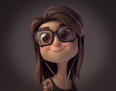Hi there folks!This is a project I've been working on for the past few days. The goal was to make a professional avatar for this amazing art director called Nadia. Hope you like it!