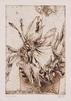 Horst Janssen, Nature Journal, Still Life Art, Rembrandt, Macabre, Printmaking, Graphic Art, Moose Art, Illustration Art