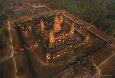 Angkor Vat. Siem-Reap. Cambodia