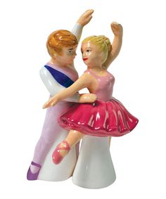 Ballet Dancer Salt & Pepper Shakers by Westland Giftware on #zulily today!