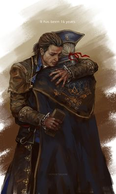SUNSETAGAIN : Photo haythem Kenway & Connor Kenway Assassin's Creed III